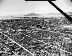Industrial Japan after the dropping of the atomic bomb